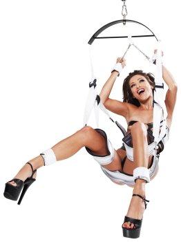 Houpačky na sex: Závěsná erotická houpačka Fantasy Bondage Swing