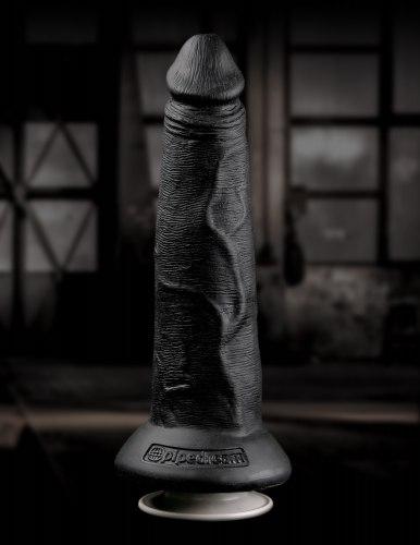 "Dutý připínací penis 8"" + postroj COMMAND by Sir Richard's"