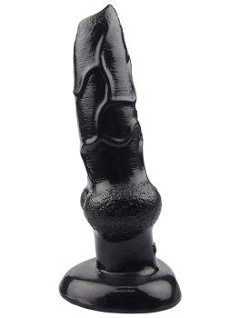 Animal dildo DOG - psí penis, černý – Animal dilda - zvířecí penisy