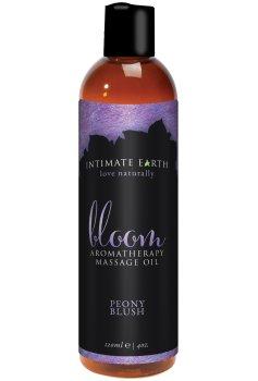 Masážní olej Intimate Earth Bloom – Masážní oleje