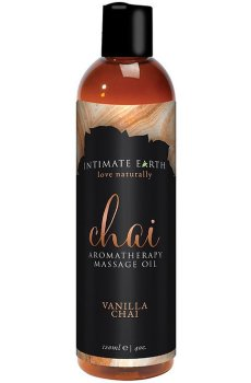 Masážní olej Intimate Earth Chai – Masážní oleje