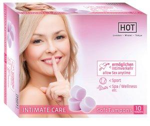 Menstruační houbičky Intimate Care, 10 ks – Menstruační tampony (houbičky)