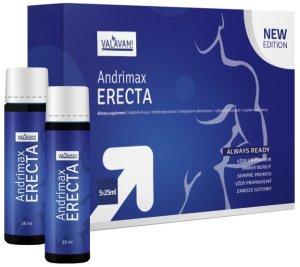 Nápoj pro okamžité posílení erekce Andrimax ERECTA – Tablety a prášky na erekci