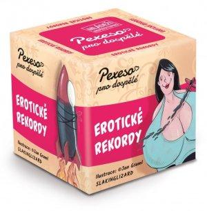 Pexeso pro dospělé - Erotické rekordy – Erotické hry